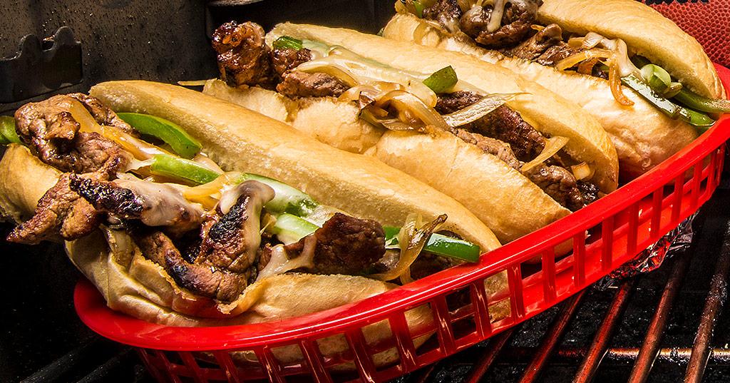 recipe: flank steak philly sandwich [20]