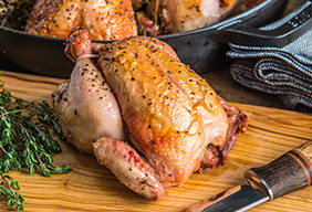 Skillet Roasted Game Bird