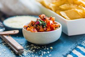 Charred Tomato Salsa
