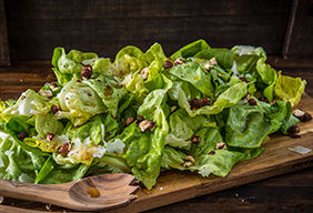 Smoked Honey Vinaigrette and Hazelnut Salad