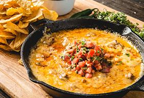 Baked Chorizo Cheese Dip