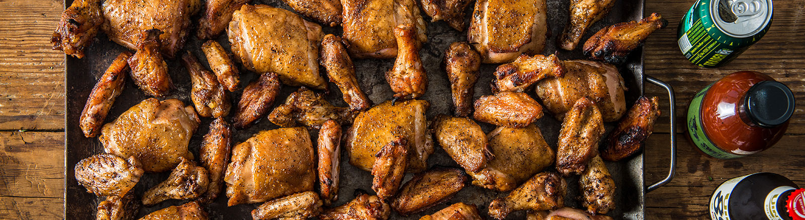 BBQ Game Day Chicken Wings and Thighs