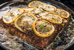 Baked Steelhead by Matt Crawford