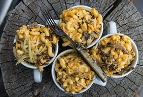 Pulled Pork Mac & Cheese