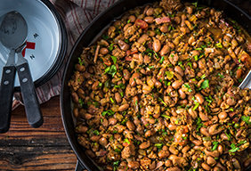 Traeger Cowboy Beans