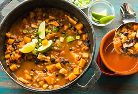 Chipotle Chicken Black Bean Chili