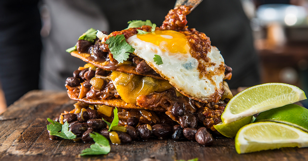 BBQ Pulled Pork Huevos Rancheros
