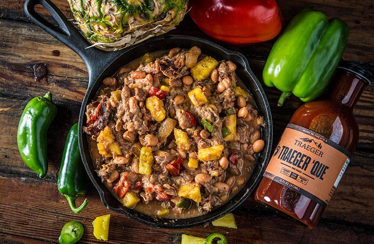 Baked Kalua Pork & Beans
