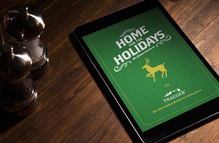 home for the holidays traeger recipe ebook