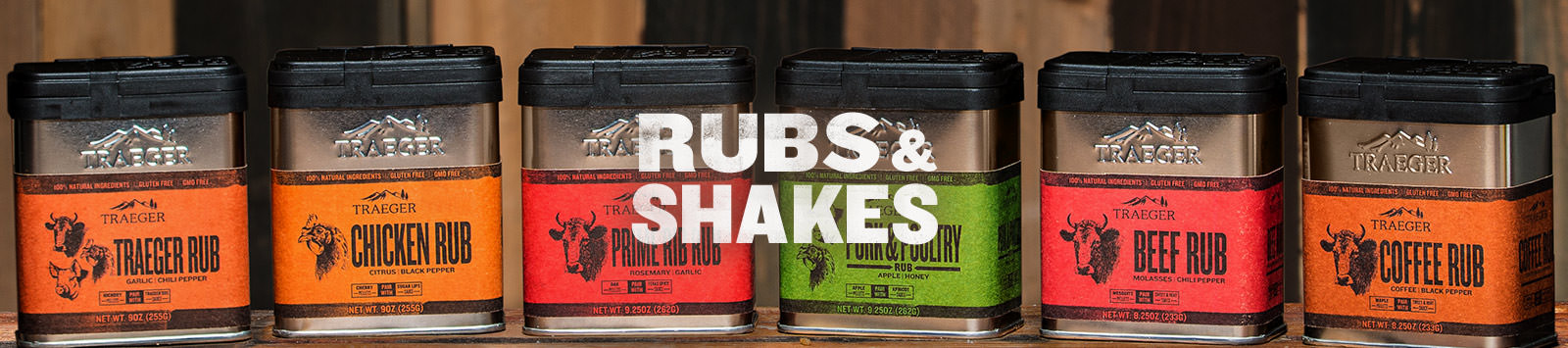 Rubs and Shakes