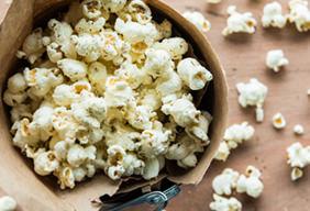 Smoked Parmesan Herb Popcorn