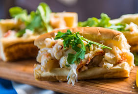 Smoked Lobster Rolls