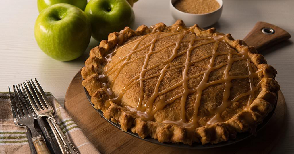 caramel apple pie traeger wood fired grills