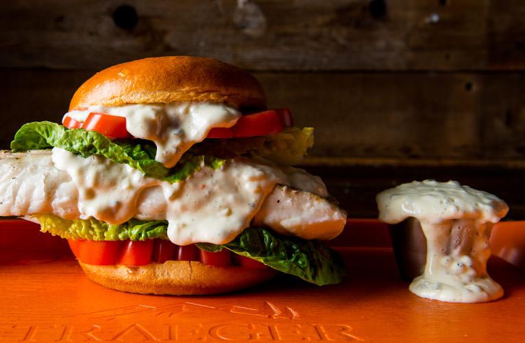Halibut Sandwich