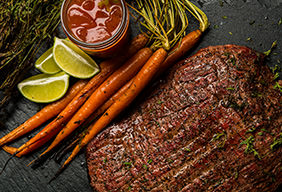 Bloody Mary Flank Steak