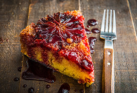 Baked Blood Orange Upside Down Cake