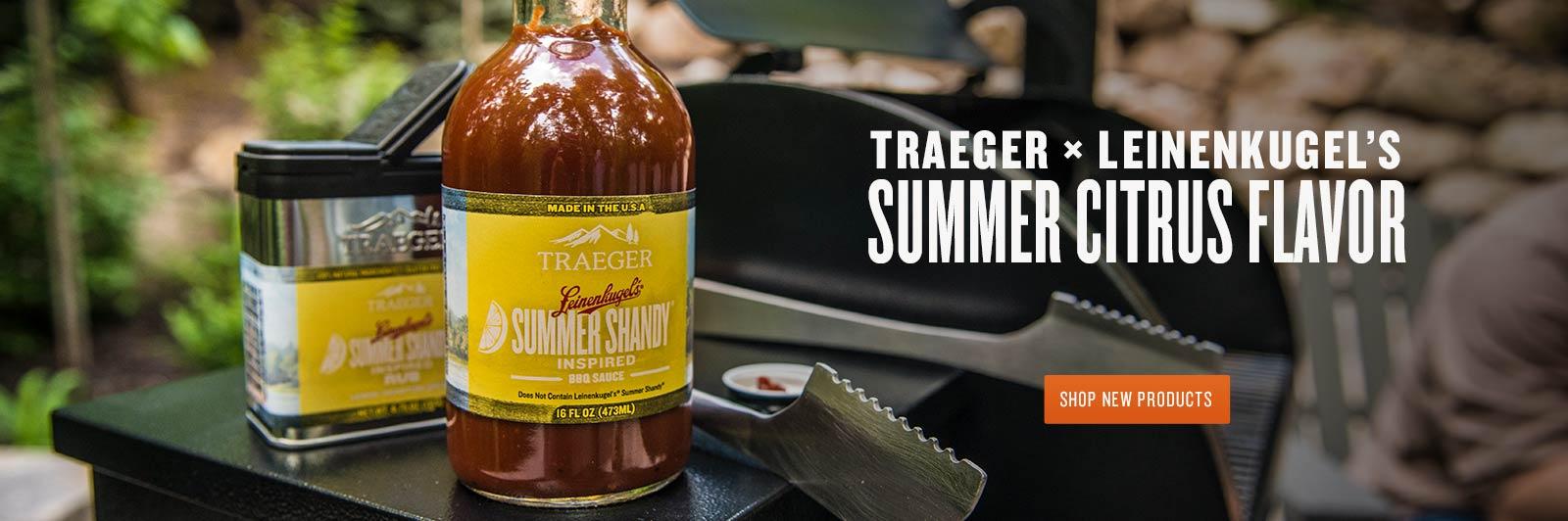 Traeger X Leinenkugel's Summer Citrus Flavor