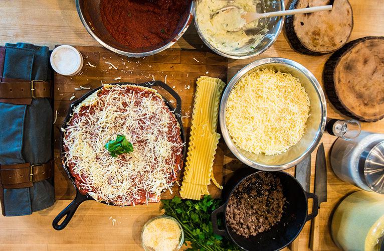 Cast Iron Lasagna
