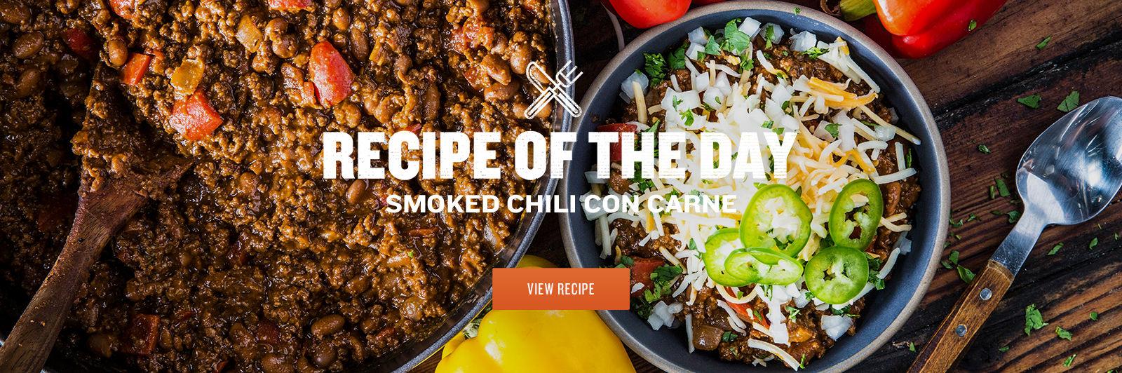 Smoked Chili Con Carne