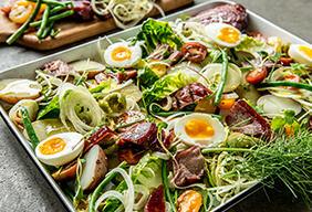 Smoked Albacore Tuna Nicoise Salad