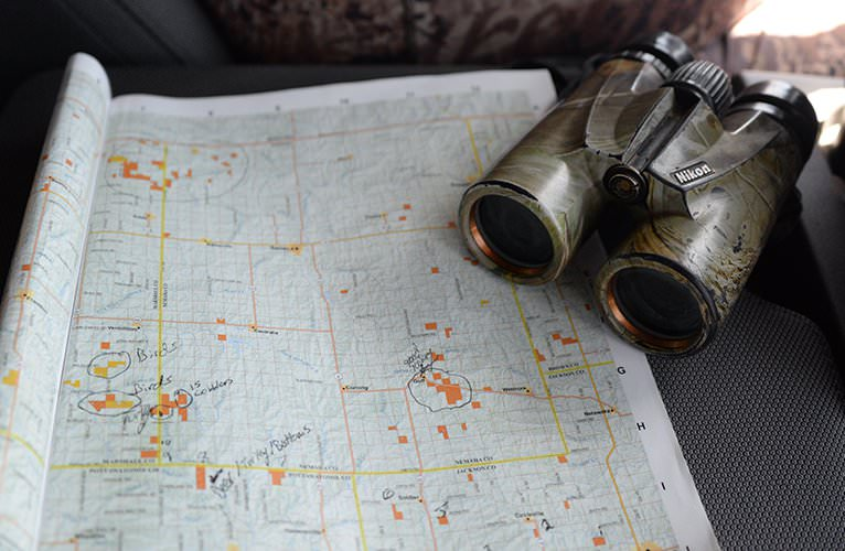 World Turkey Hunt Traeger Scouting Map