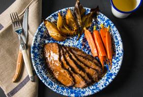 Braised Mediterranean Beef Brisket