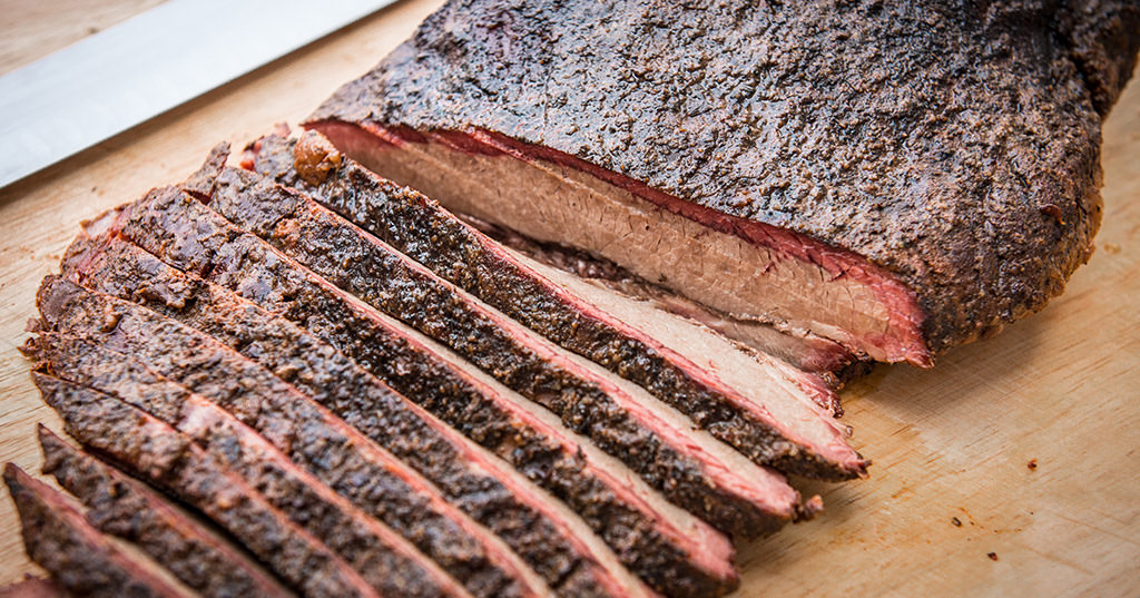 smoked bbq brisket injection recipe traeger wood fired grills