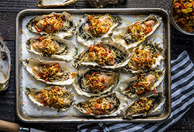 Grilled Oysters by Journey South