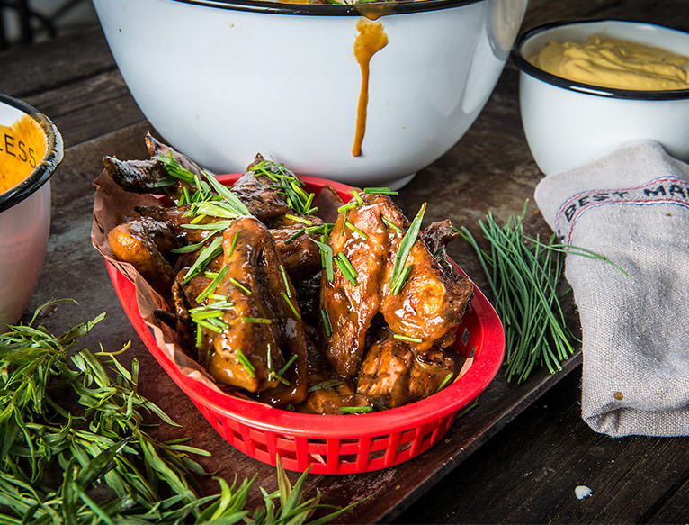 Matthew Jennings Mustard Chicken Wings Recipes