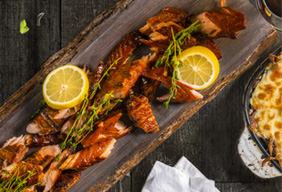 Sweet Salmon Jerky