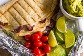 Skirt Steak Quesadillas
