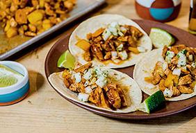 BBQ Tacos Al Pastor