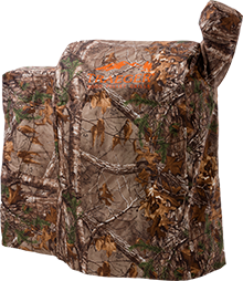 real tree grill cover