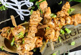 Bourbon BBQ Chicken Kabobs