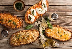Flatbread Pizza Three Ways