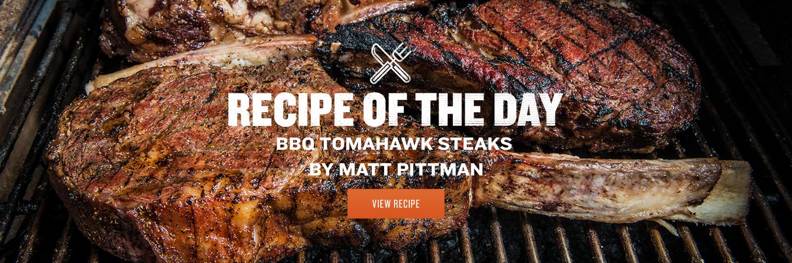 BBQ Tomahawk Steaks by Matt Pittman
