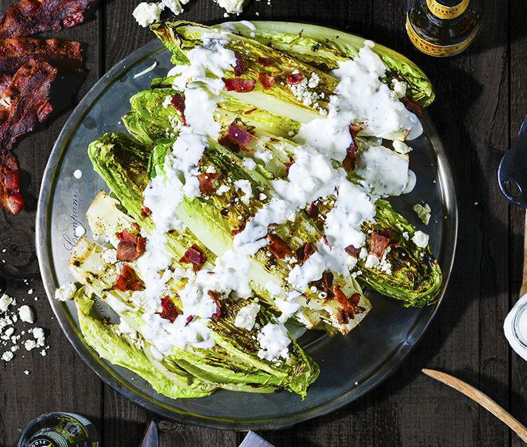4th of July Caesar Salad