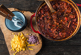 Braised 5 Alarm Texas Chili