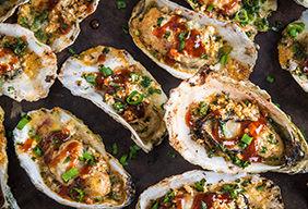 BBQ Oysters by Matt Pittman