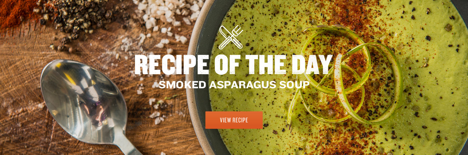 Smoked Asparagus Soup