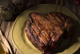 Smoked Porterhouse Steak