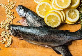 Whole Roasted Trout