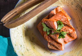 Simple Glazed Salmon Fillets