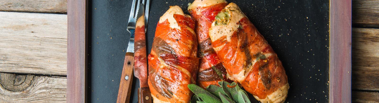 Pork saltimbocca italian world flavor recipes