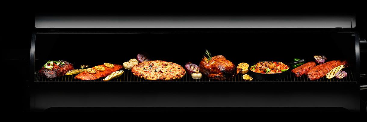 wood pellet grill versatility