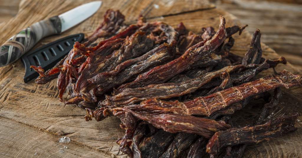 Smoked Paleo Beef Jerky