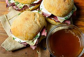 Leftover BBQ Sandwich