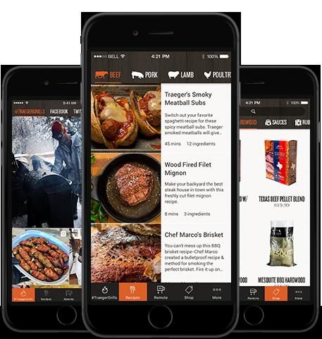 Traeger Mobile App