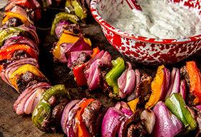 Grilled Venison Kebabs