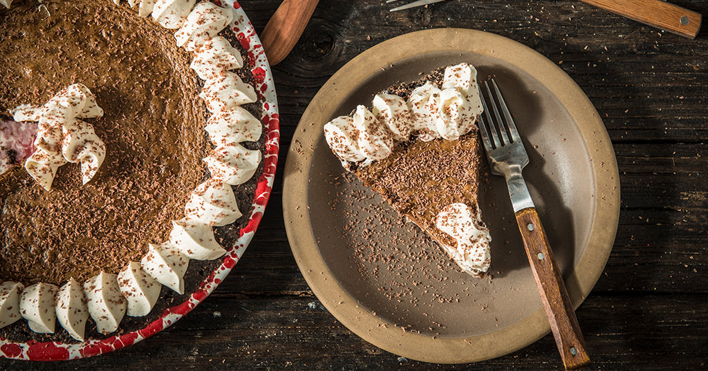 Smoked Irish Coffee Pie
